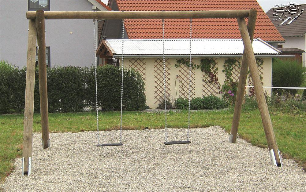 Klettergerüst Rundholz : Eder rundholz schaukeln